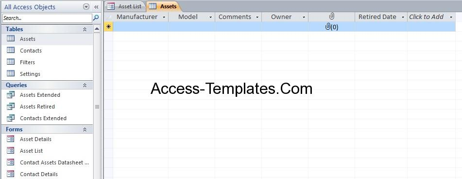 asset inventory template sample asset inventory template free