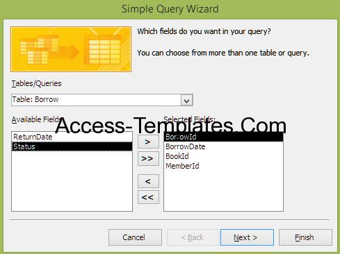 how to write query in access-2