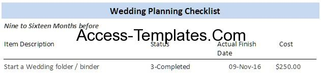 marriage planning checklist