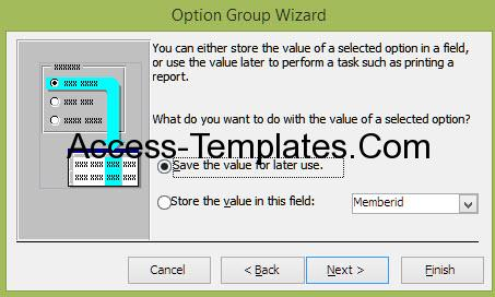Ms Access Option Group (6)