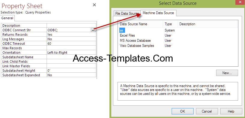Ms Access Pass Through Query-4