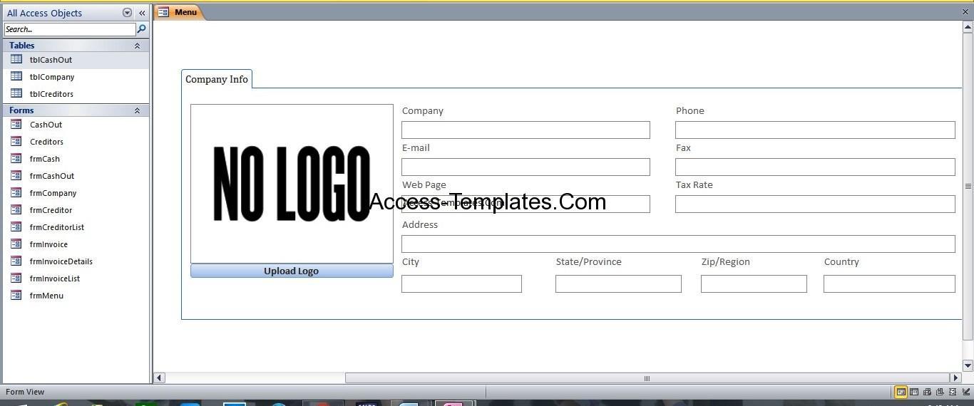 expense database