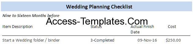 marriage planning checklist