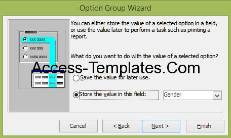 Ms Access Option Group (4)