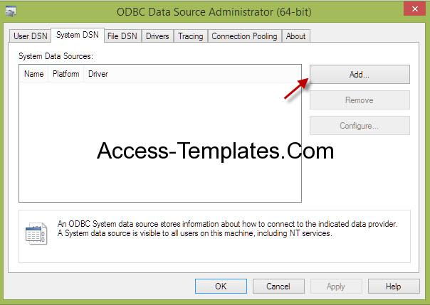 Ms Access Pass Through Query-1