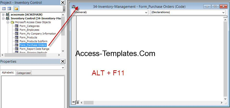 MS Access VBA Close Workbook and Form | Access Database and
