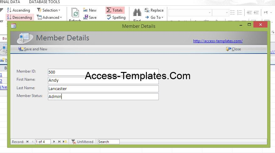 Microsoft Access VBA Open Form to a New or Specific Record